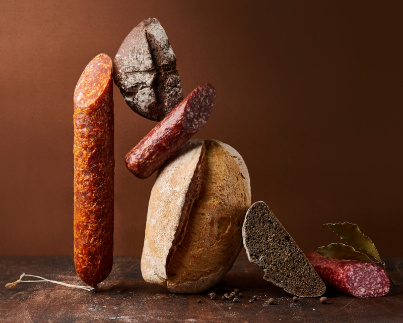 Balance of Bread and Sausages