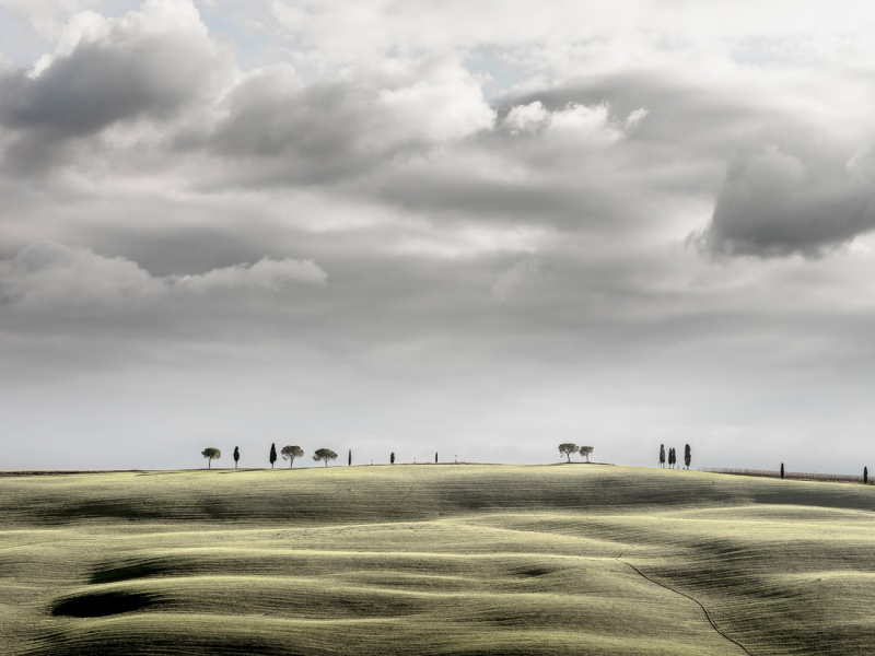 Val d'Orcia Hill Top