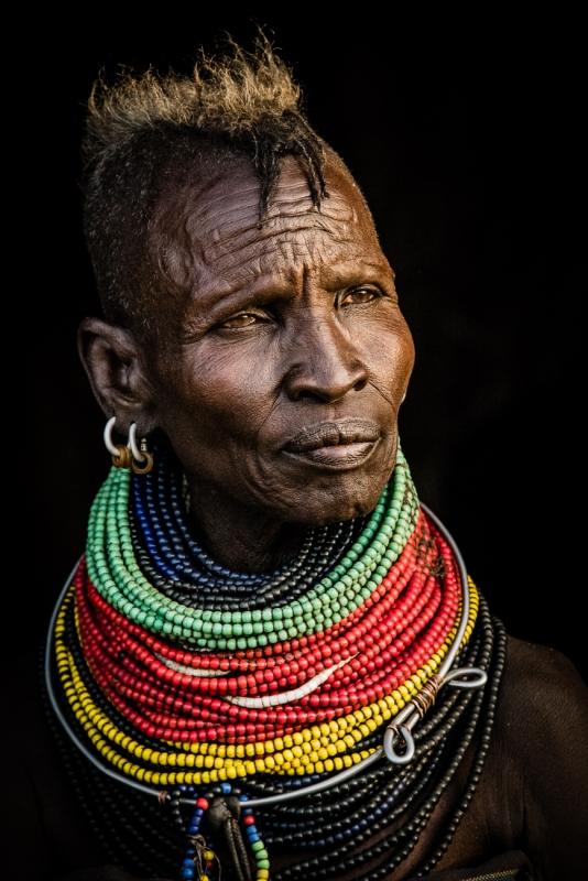 Portrait of A Turkana Tribeswoman