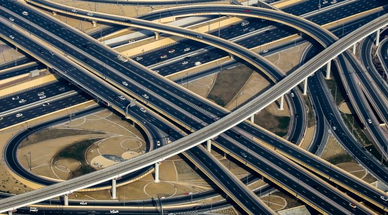 Crisscross Pattern-Dubai