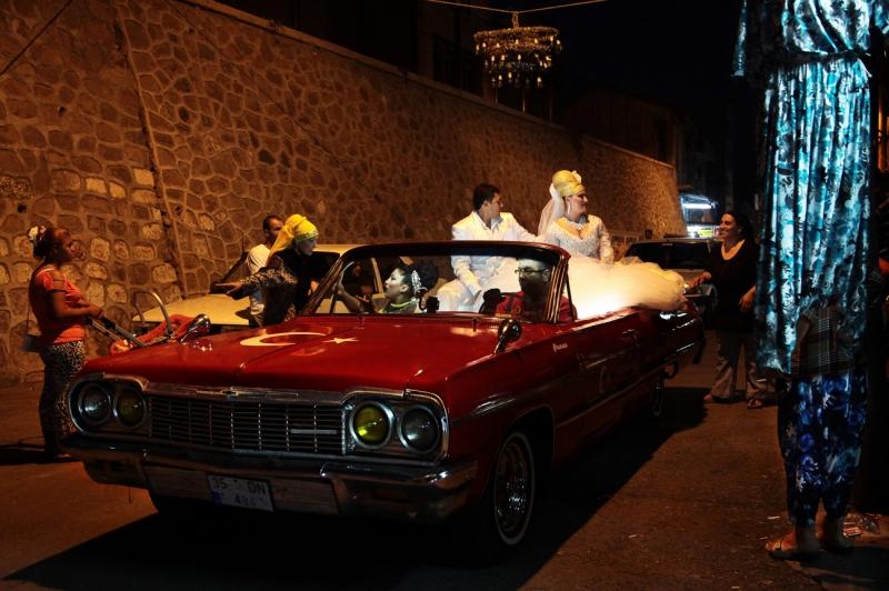 Gypsy Wedding Car