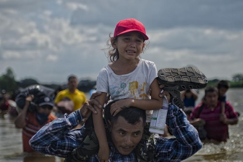 Salvadoran Migrant Caravan