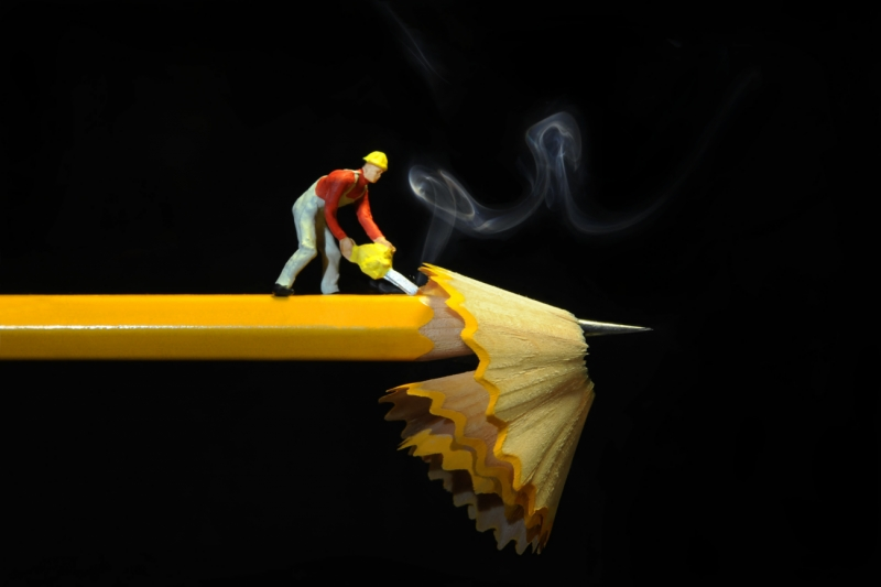 A Pencil Worker