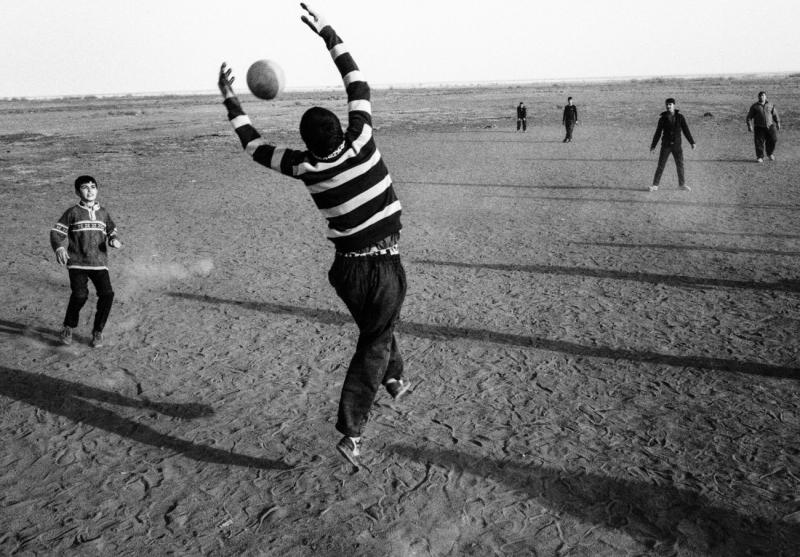 Game Time by Lake Urmia