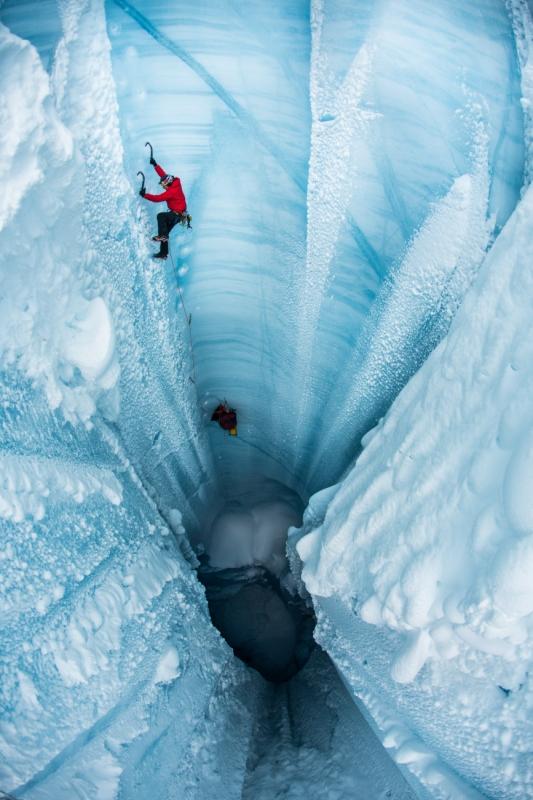 The Ice Climber