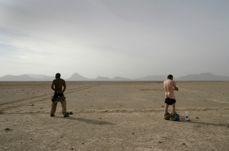 Washing in the Afghan Plains