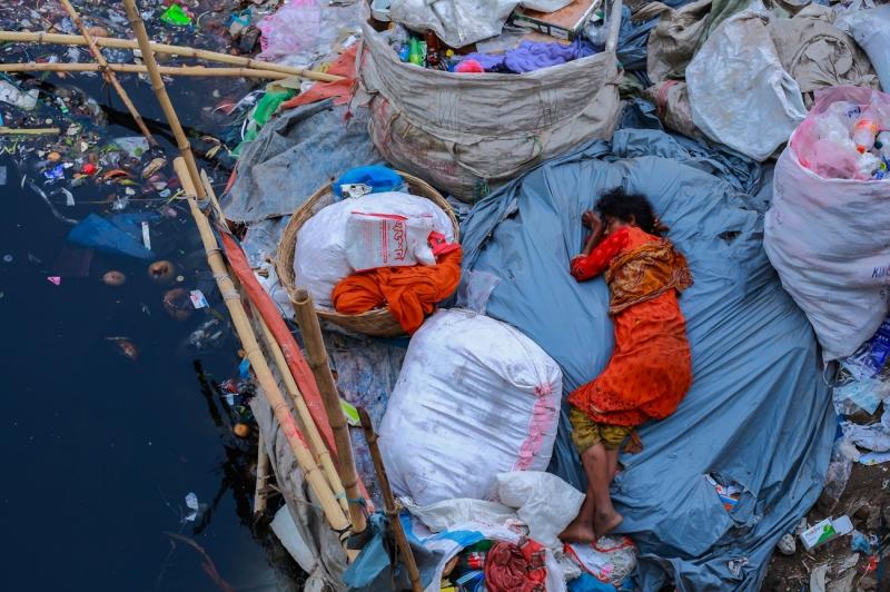 Sleep Of Homeless People