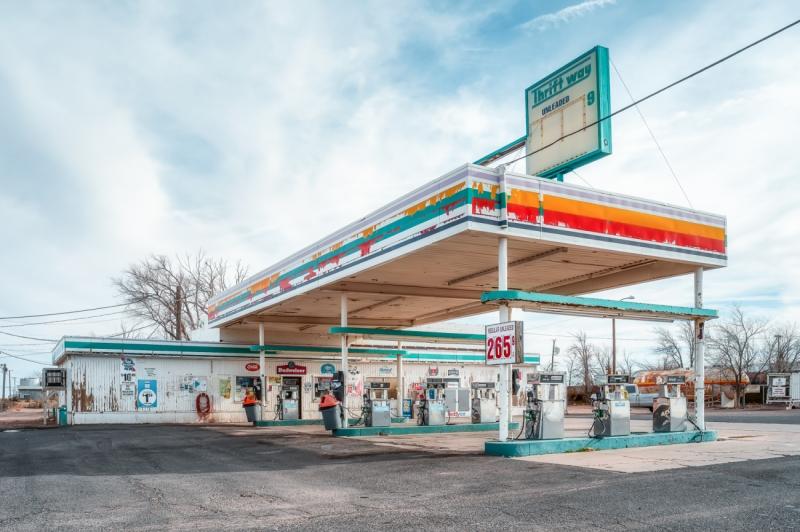 Old Gas Station Arizona