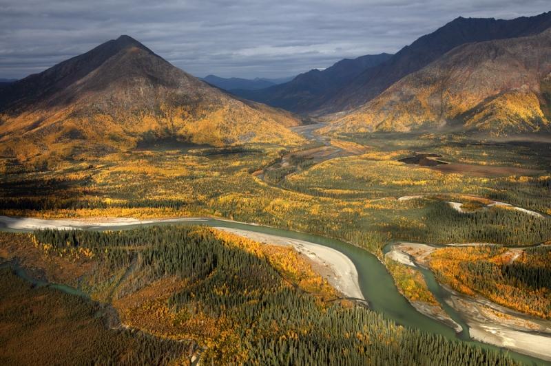 Autumn in the Arctic Circle
